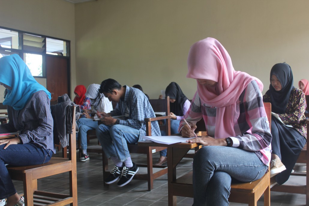 The final tests on FKIP campus in the academic year of 2015/2016